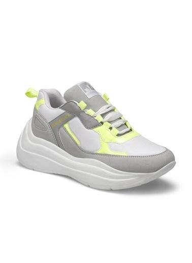 Lumberjack Kadın Beyaz Sneakers 100486545  Beyaz